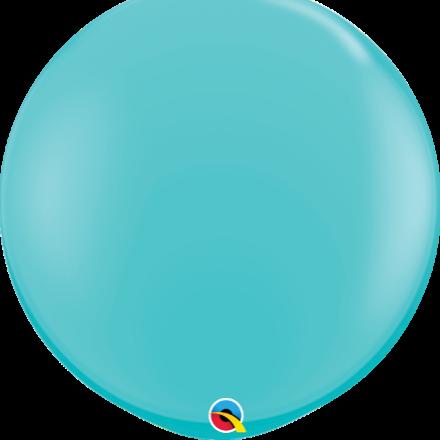 3' Caribbean blue latex