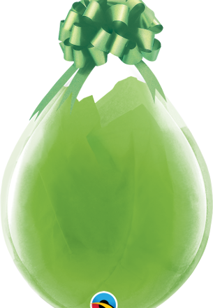 "18"" Clear stuffing latex balloon"