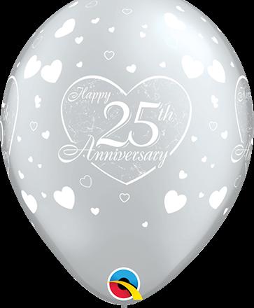 25 th anniversary latex