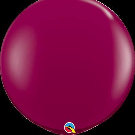 sparkling burgundy latex