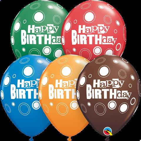 birthday bold dots latex
