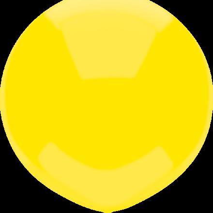 "17"" lemon yellow latex"