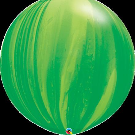 """30"""" Giant green super agate latex"""