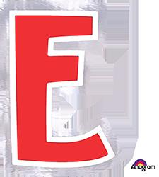 Letter`E` sticker