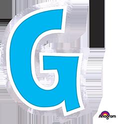 Letter`G` sticker