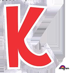 Letter`K` sticker