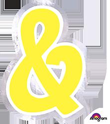 Letter`&` sticker