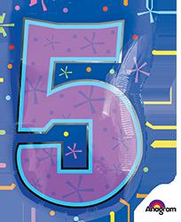 #5 Multi-Color frontside mylar
