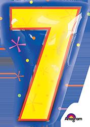 #7 Multi-Color frontside mylar