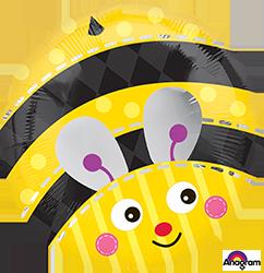 Cute Bumble Bee mylar