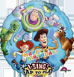 Buzz Light Year Birthday singing mylar