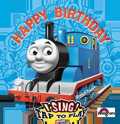 Thomas the Tank Happy Birthday singing mylar