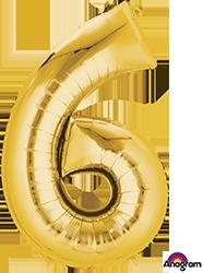 #6 gold mylar