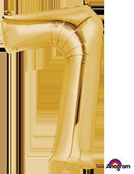 #7 gold mylar