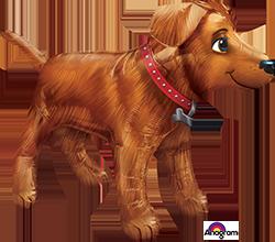 Golden Dog super shape mylar