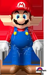 Mario Bros air walker
