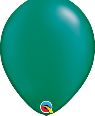 "11"" Pearl Emerald Green Latex"