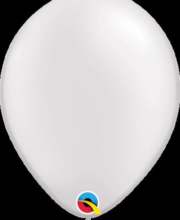 """11"""" Pearl White Latex"""