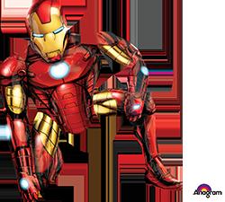 Iron Man air walker mylar
