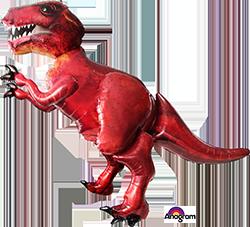 Discovering Dinosaurs Tyrannosaurus Rex mylar